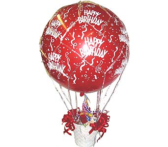 BB7 ''Hot Air Balloon'' in Oklahoma City OK, Array of Flowers & Gifts