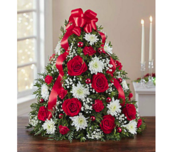 Holiday Flower Tree in Fort Myers FL, Ft. Myers Express Floral & Gifts