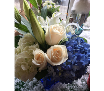 BLUE DREIDEL  in Needham MA, Needham Florist