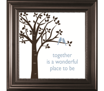 Together is a Wonderful-Bird in Isanti MN, Elaine's Flowers & Gifts