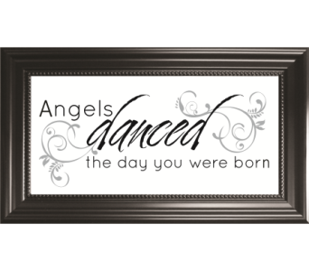 Angels Danced the Day in Isanti MN, Elaine's Flowers & Gifts
