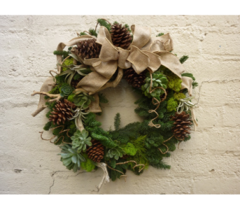 CA Rustic Wreath  in West Los Angeles CA, Westwood Flower Garden