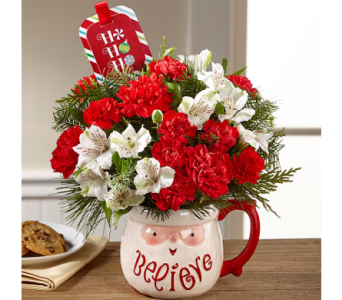 The FTD� Believe� Mug Bouquet by Hallmark in El Paso TX, Executive Flowers