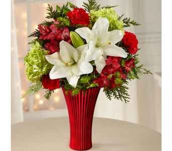 The FTD� Holiday Celebrations� Bouquet in El Paso TX, Executive Flowers