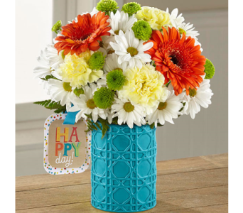 The FTD� Happy Day Birthday� Bouquet by Hallmark in El Paso TX, Executive Flowers