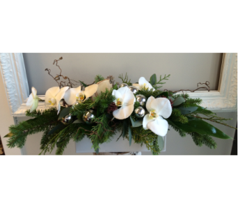 Luxurious Frosted White in Victoria BC, Fine Floral Designs