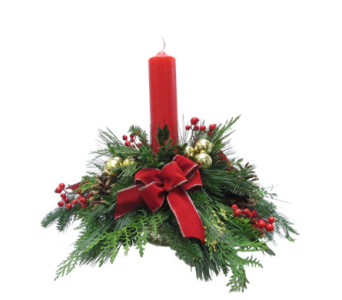 Christmas Traditions in Amherst NY, The Trillium's Courtyard Florist