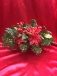 Christmas Silk Centerpeice  in Sitka AK, Bev's Flowers & Gifts