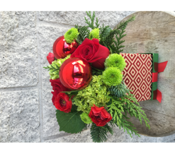 sm x-mas box in Phoenix AZ, foothills floral gallery