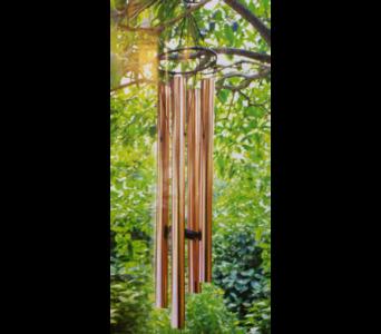 Copper Wind Chime 2