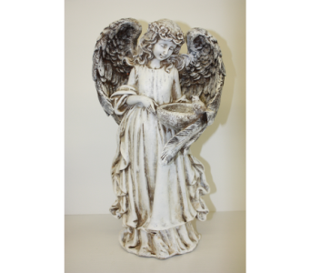 Large Resin Angel Figurine in Medicine Hat AB, Crescent Heights Florist