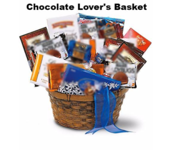 Chocolate Lover''s Basket in Harrisonburg VA, Blakemore's Flowers, LLC