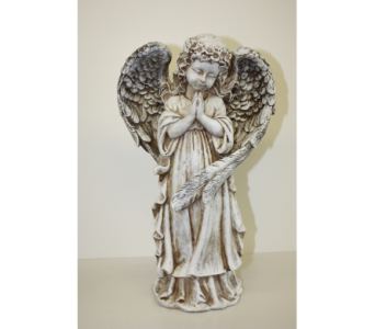 Small Resin Angel in Medicine Hat AB, Crescent Heights Florist