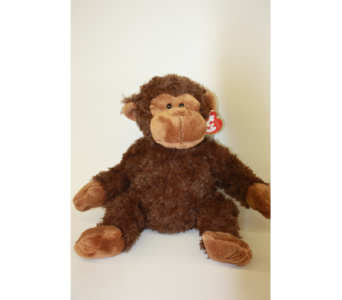 Ty Classic Bungle the Monkey in Medicine Hat AB, Crescent Heights Florist