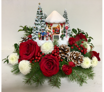 2016 Thomas Kinkade Gazebo Bouquet in Wyoming MI, Wyoming Stuyvesant Floral