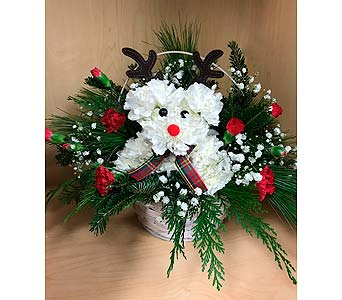 Rudolph Paws in Wall Township NJ, Wildflowers Florist & Gifts