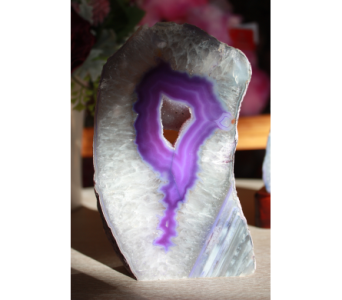 Agate Slice in Medicine Hat AB, Crescent Heights Florist