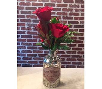 Bottle of Cheer in Moorestown NJ, Moorestown Flower Shoppe