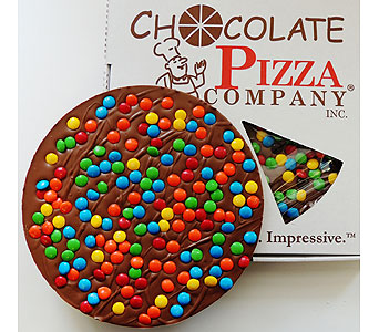 16oz Milk Choc Pizza in Syracuse NY, St Agnes Floral Shop, Inc.