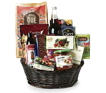 Christmas Basket in Victoria BC, Thrifty Foods Flowers & More