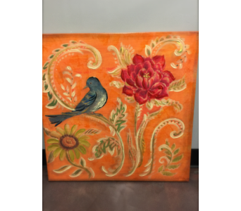 Painting - Orange in Rockwall TX, Lakeside Florist