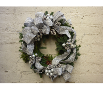Silver Birch Wreath in West Los Angeles CA, Westwood Flower Garden