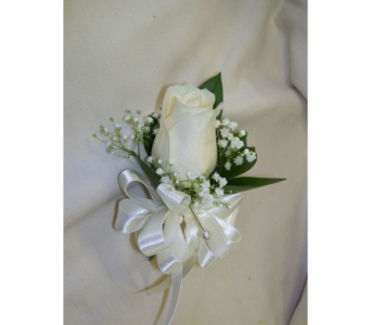 A Night To Shine Corsage in Cary NC, Every Bloomin Thing Weddings & Events Inc