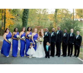 Wedding in Cary NC, Every Bloomin Thing Weddings & Events Inc