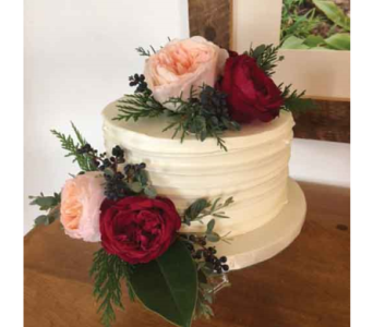 Wedding Cake Floral in Chelsea MI, Chelsea Village Flowers