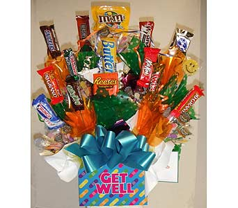 Get Well Bouquet in Redding CA, Redding Florist
