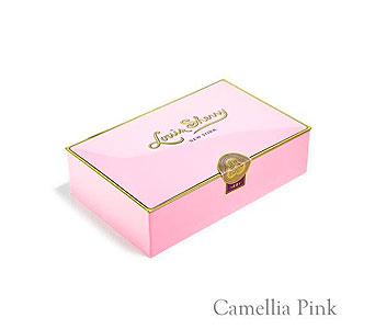 Camellia Pink 12- Piece Chocolate Tin in Oklahoma City OK, Trochta's