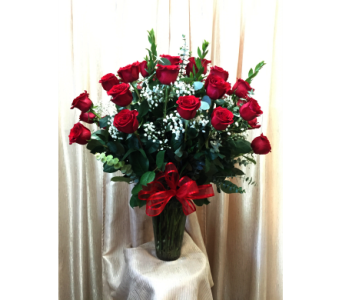 Crazy for You (36 Red Roses) in Orange CA, Main Street Florist