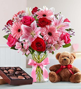 valentine surprise in round rock tx heart home flowers - Valentine Flower Delivery