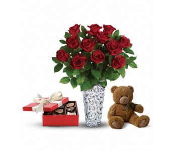 Sweet and Plush - Valentine's Day Gift Set 3 in St. Johns NL, Holland Nurseries
