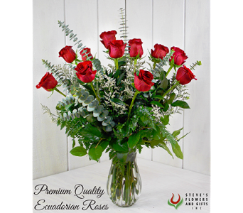 Premium Quality Red Roses in Indianapolis IN, Steve's Flowers and Gifts