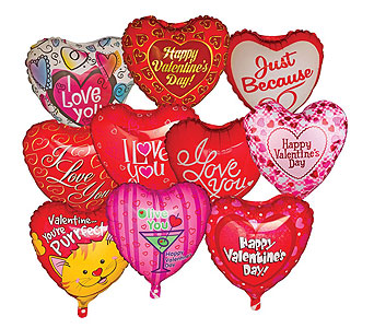 Valentine's Day Mylar in Laurel MD, Rainbow Florist & Delectables, Inc.