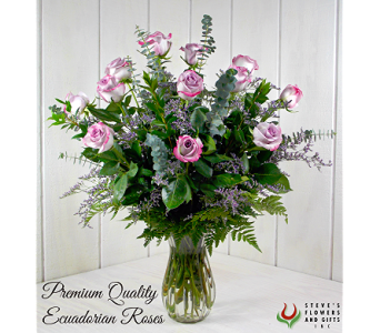 Premium Quality Lavender Roses in Indianapolis IN, Steve's Flowers and Gifts