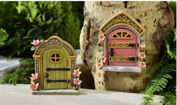 Enchanted Fairy Door in Guelph ON, Patti's Flower Boutique