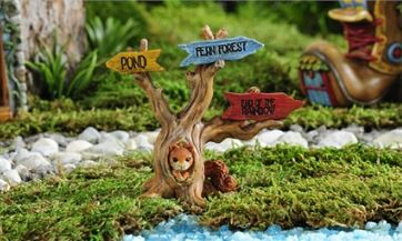 Enchanted Forest Tree Design Directional Sign in Guelph ON, Patti's Flower Boutique
