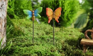 Enchanted Forest Butterfly Design Pick, 2/Asst in Guelph ON, Patti's Flower Boutique