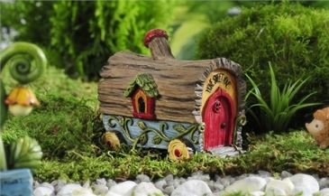 Enchanted Forest Log Design Covered Wagon in Guelph ON, Patti's Flower Boutique