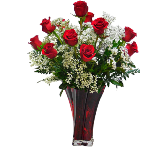 Passionate Red Roses in Mesa AZ, Watson Flower Shops