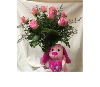 Puppy Love in Fairfield OH, Novack Schafer Florist