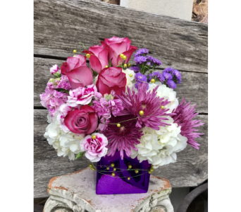 Purple Passion in Springdale AR, Organic Creations at Country Gardens