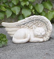 Sm Sleeping Cat in Wing in Port Charlotte FL, Punta Gorda Florist Inc.