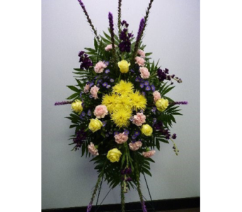 Basic Funeral Stand Mix in Albertville AL, The Flower Market