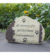 Pet Memorial Stone in Port Charlotte FL, Punta Gorda Florist Inc.