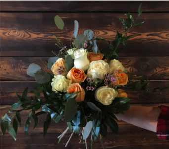 Rose Bouquet in Cranbrook BC, M J's Floral Boutique