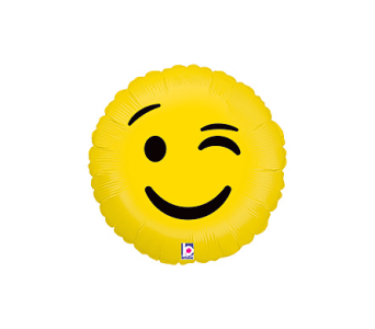 Winking Emoji Balloon in Oklahoma City OK, Trochta's