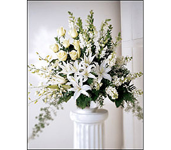 The FTD Light In Your Honor Arrangement in Cohasset MA, ExoticFlowers.biz